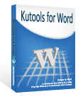 Kutools for Word(Office Word插件)v9.0免费版
